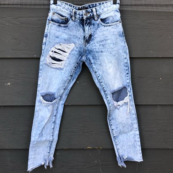 forever 21 men jeans mens acid wash denim poshmark